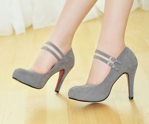 shoes and grey image