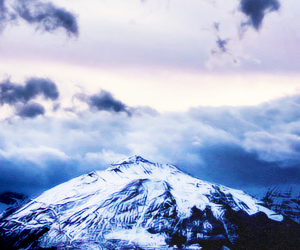 header, blue, and snow image