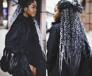 natural hair, street style, and fashion image