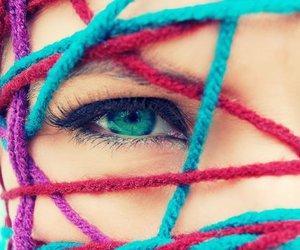 girl and eye image