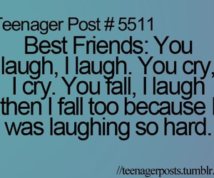 best friends, teenager post, and friends image