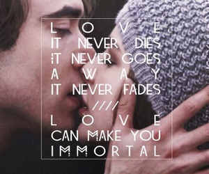 if i stay, love, and quotes image