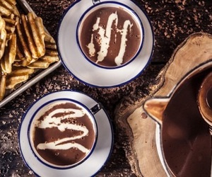 chocolate, drink, and love it image
