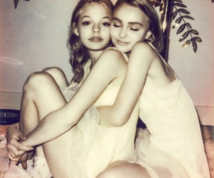 lily rose depp, lily-rose depp, and alana champion image