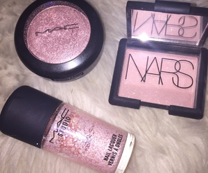 pink, mac, and nars image