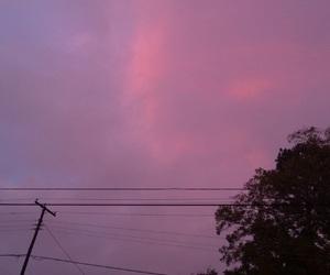 night sky, pink, and purple image