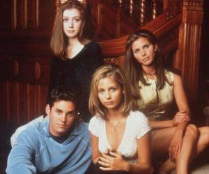 alyson hannigan, sarah michelle gellar, and buffy the vampire slayer image