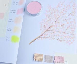 pastel, pink, and art image