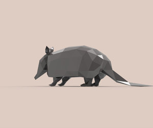 animal, decoration, and paper craft image