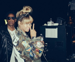 beyoncé, queen b, and jay z image