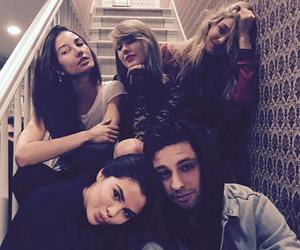 selena gomez, Taylor Swift, and gigi hadid image