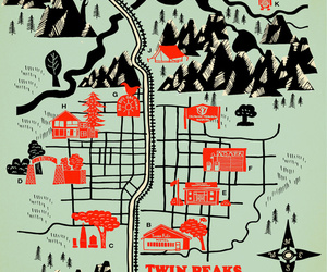 map and Twin Peaks image