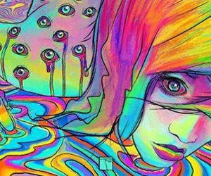 draw and trippy image