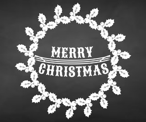 illustration, merry christmas, and photoshop image