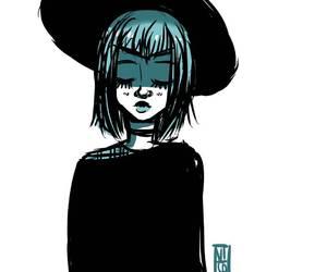 alternative, cute girl, and grunge image
