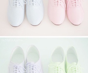pastel, shoes, and pink image