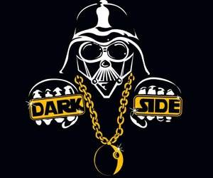 star wars, darth vader, and dark side image