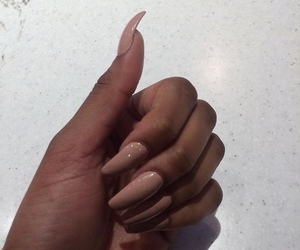 nails, Nude, and luxury image