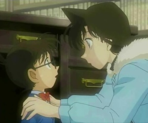 conan, shinichi, and anime - detektiv conan image