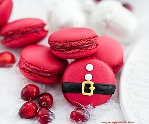 christmas, food, and red image