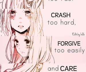 quote, anime, and girl image