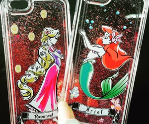 cover, disney, and glitter image