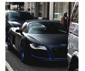 car, black, and blue image