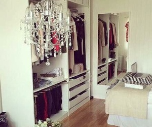 closet, room, and beautiful image