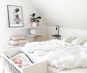 architecture, baby, and bedroom image