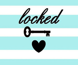 locked, wallpaper, and heart image