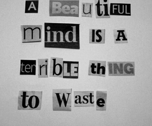 quote, beautiful, and mind image