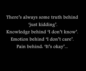 pain, quote, and emotions image