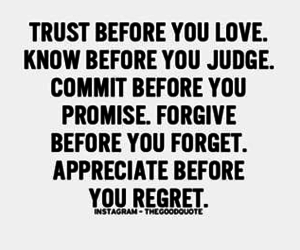 quotes, trust, and wisdom image