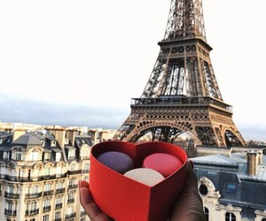 paris, travel, and ‎macarons image