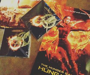 Jennifer Lawrence, hunger games, and peeta mellark image