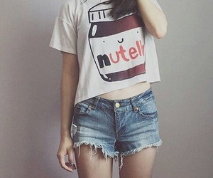 nutella, fashion, and girl image