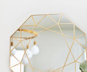 gold, mirror, and home image