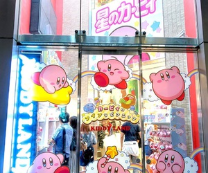 japan, kirby, and pink image