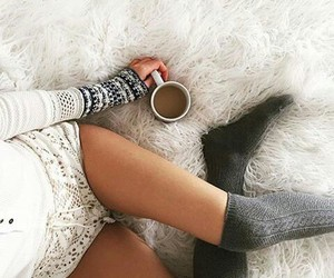 coffee, winter, and fall image