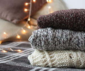 autumn, sweater, and winter image