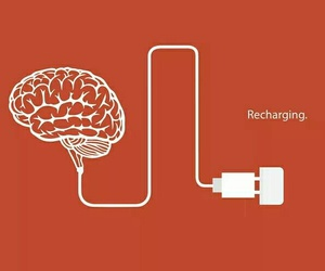 brain, charger, and mind image