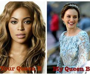 b, blair waldorf, and queen b image