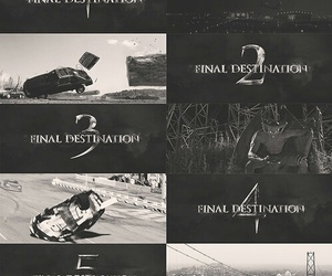 horror, movie, and final destination image