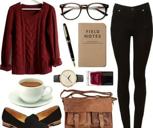 outfit, sweater, and clothes image