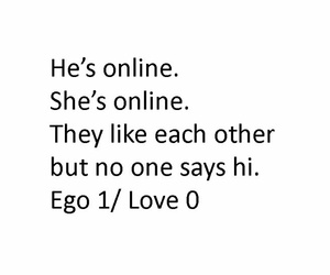 love, ego, and true image