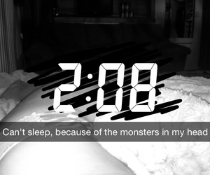 cant sleep and monsters image