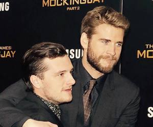 josh hutcherson and liam hemsworth image