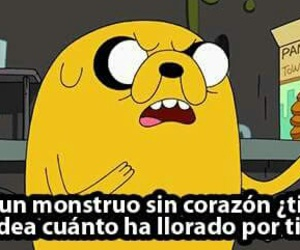 JAKe, hora de aventura, and cry image