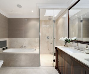 bath, decor, and design image