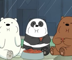 cartoon, bear, and cute image